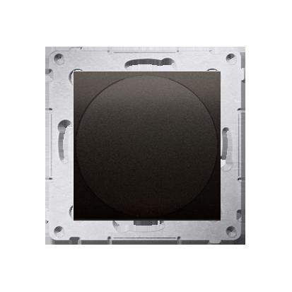 Lichtsignal rot LED (Modul) Gehäuse braun matt Simon 54 Premium Kontakt Simon DSS2.01/46