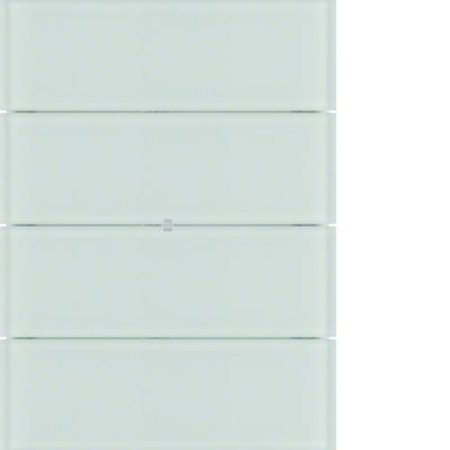 Lichtszenentastsensor 8fach Komfort B.IQ Glas polarweiß Hager 75168690