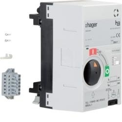Motorantrieb für Baugröße x250 24VDC Hager HXB040H