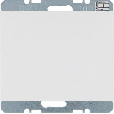 Objekt-Temperaturregler mit Tasterschnittstelle K.1 polarweiß glänzend Hager 75441279
