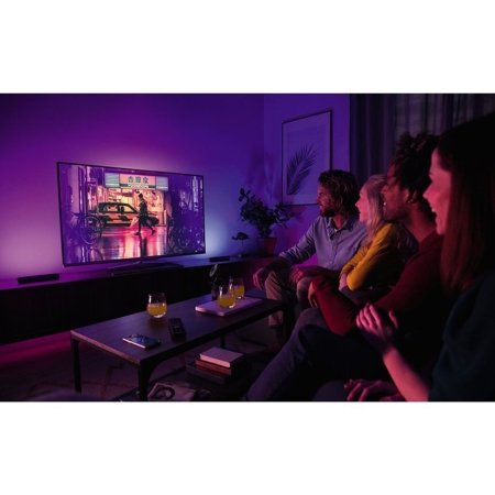 Philips Hue Set 2x Tischleuchte Play LED weiß 42W 530lm  2000–6500K Hue White Color Ambiance