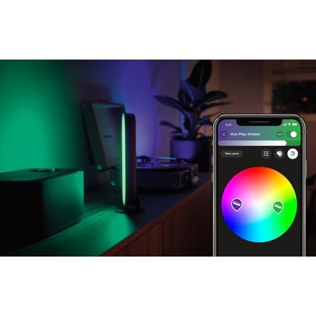 Philips Hue Tischleuchte Play LED schwarz 42W 530lm  2000–6500K Hue White Color Ambiance