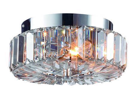 Plafond Chrom Kristall ULRIKSDAL 40W 2xE14 Markslojd 102649