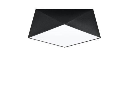Plafond HEXA 35 schwarz E27 SL.0690 Sollux