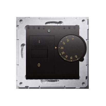Raumtemperatur- Regler mit Innensensor (Modul) anthrazit matt Kontakt Simon 54 Premium DRT10W.02/48