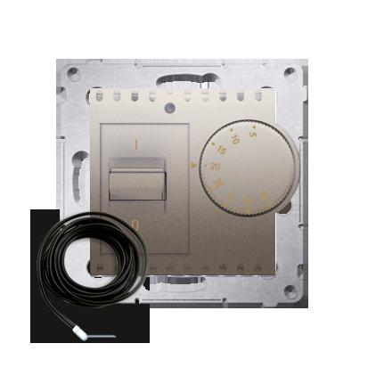 Raumtemperatur- Regler mit Innensensor (Modul) inkl. Außensensor gold matt DRT10Z.02/44