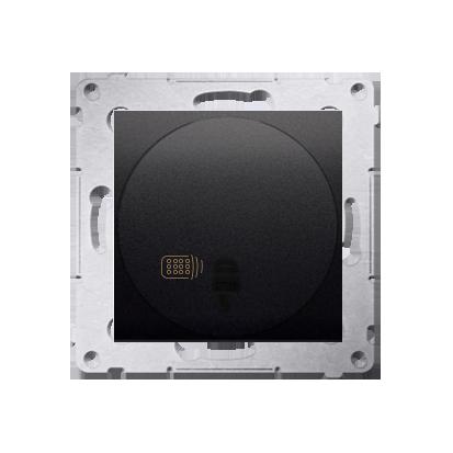 Relais-Schalter (Modul) mit Fernbedienung anthrazit matt Simon 54 Premium Kontakt Simon DWP10P.01/48