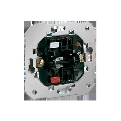 Schalter (Modul) 1polig weiß 10AX Kontakt Simon 82  75101-39