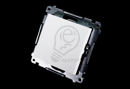Schalter (Modul) 1polig weiß mit Steckklemmen Simon 54 Premium Kontakt Simon DW1.01/11