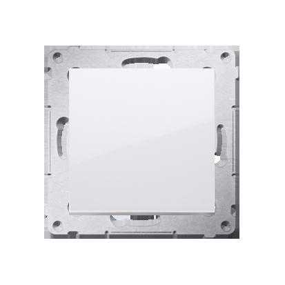 Schalter (Modul) einpolig glänzend polarweiß Kontakt Simon 54 Premium DW1A.01/11