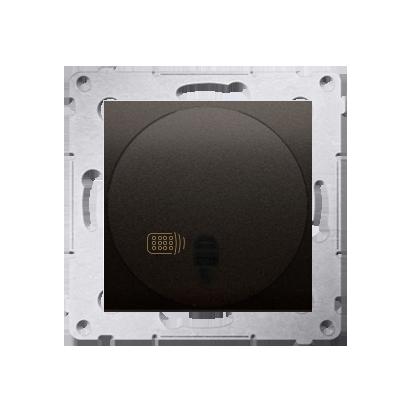 Schalter (Modul) mit Fernbedienung 20-500W braun matt Simon 54 Premium Kontakt Simon DWP10T.01/46