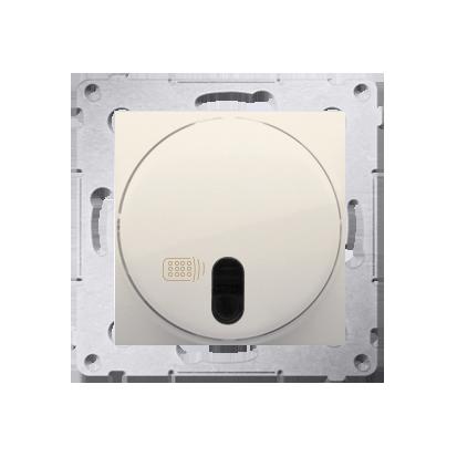 Schalter (Modul) mit Fernbedienung 20-500W cremeweiß matt Kontakt Simon 54 Premium DWP10T.01/41
