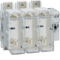 Schalter mit Sicherung 3polig 400 A / T2 Hager HFD340