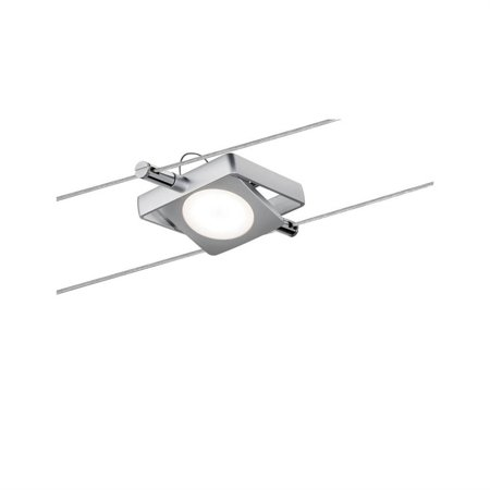 Seilsystem Spot LED MacLED 4W 2700K 200lm Chrom matt 12V