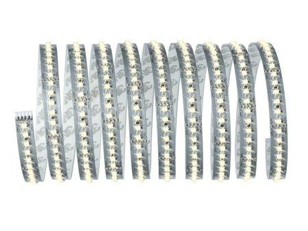 Set Stripe-Band LED MaxLED 1000 3m Warmweiß 40W 2700K 3300lm 230/24V Silber