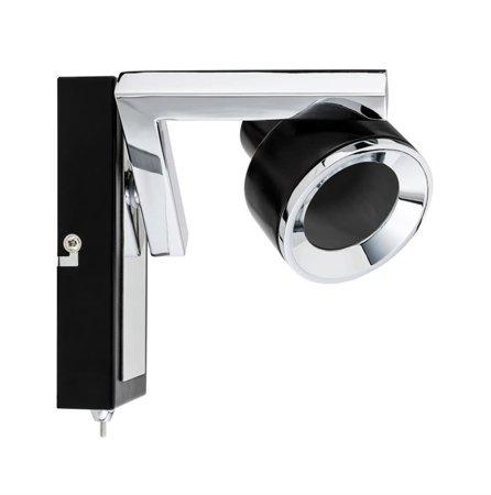 Strahler Spotlight Turn GU10 Schwarz Chrom
