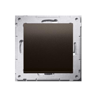Taster 1fach (Modul) Braun matt Kontakt Simon 54 Premium DP1A.01/46