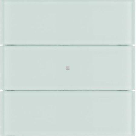 Tastsensor 3fach B.IQ Glas polarweiß Hager 75163590