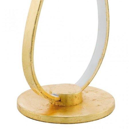 Tischlampe MIRAFLORES gold LED 16W 1600lm 3000K 97746 EGLO