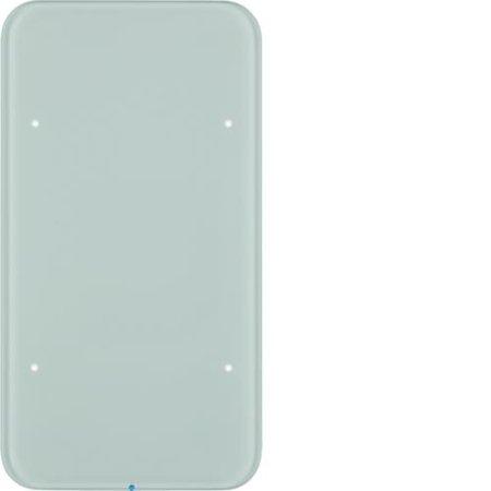 Touch-Sensor 1fach Komfort R.1 Glas polarweiß Hager 75141860