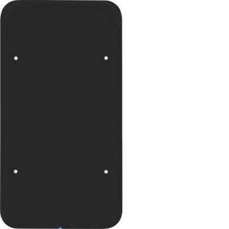 Touch-Sensor 2fach Komfort R.1 Glas schwarz Hager 75142865