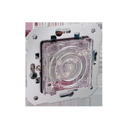 Treppen- Tastschalter - Einsatz 2000W mit LED und Relais Kontakt Simon 82 75322-69