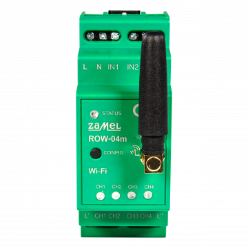 WI-FI Empfänger Modular 4-Kanal ROW-04m Supla Zamel