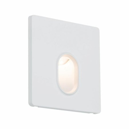 Wand/Treppen Einbauleuchte eckig 1,7W 2700K 230V - Weiß Paulmann PL92922