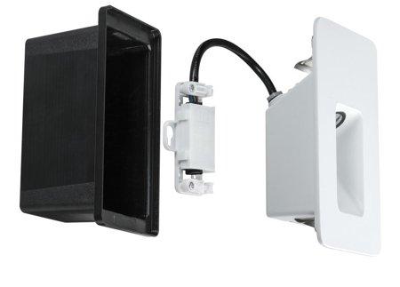 Wandeinbauleuchte Slot LED IP44 2,4W 2700K weiß matt