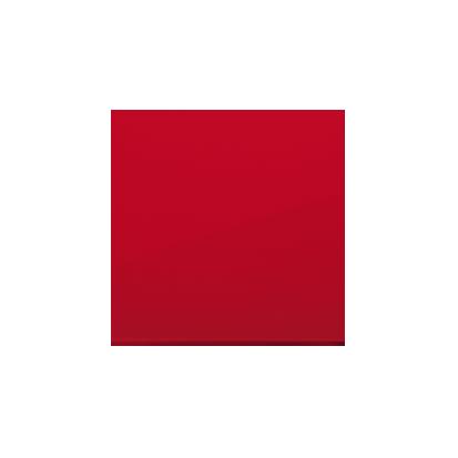 Wippe 1 fach für Schalter/ Taster rot glänzend  Simon 54 Premium Kontakt Simon  DKW1/22