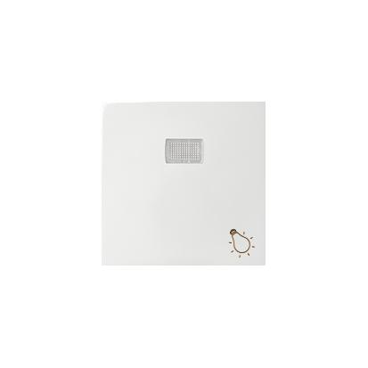 """Wippe 1fach Aufdruck """"Licht"""" für Schalter/ Taster mit LED weiß Kontakt Simon 82 82016-30"""