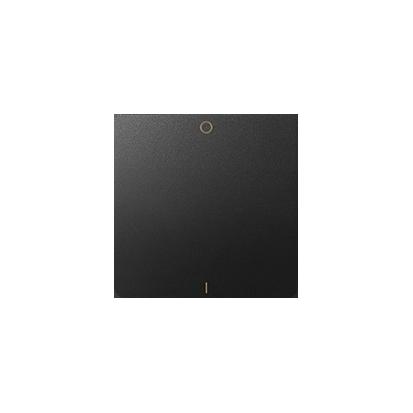 Wippe für Schalter/ Taster 1fach mit Symbol 0-1 1fach graphit matt Kontakt Simon 82 82031-38