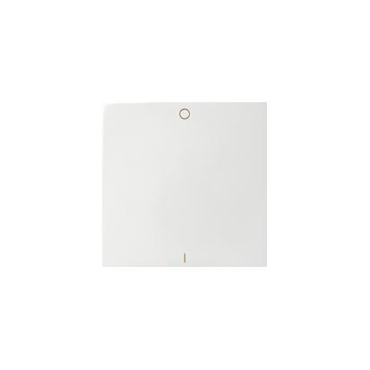 Wippe für Schalter/ Taster 1fach mit Symbol 0-1 1fach weiß glänzend Kontakt Simon 82 82031-30