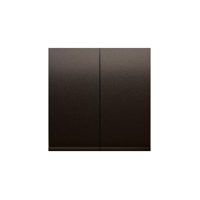 Wippe für Schalter/Taster 2fach Brun Simon 54 Premium Kontakt Simon DKW5/46
