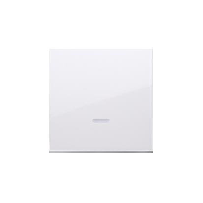 Wippe für Schalter/Taster mit Linse weiß glänzend Simon 54 Premium Kontakt Simon DKW1L/11