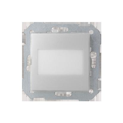 Wipptaster Einsatz 1fach beleuchtbar ohne Aufdruck  weiß Kontakt Simon 82 82993-39