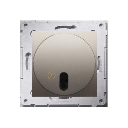 Zeitschalter (Modul) mit Ausschaltverzögerung gold matt Simon 54 Premium Kontakt Simon DWC10P.01/44